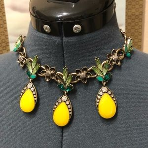 Copacabana Pineapple Collar Necklace